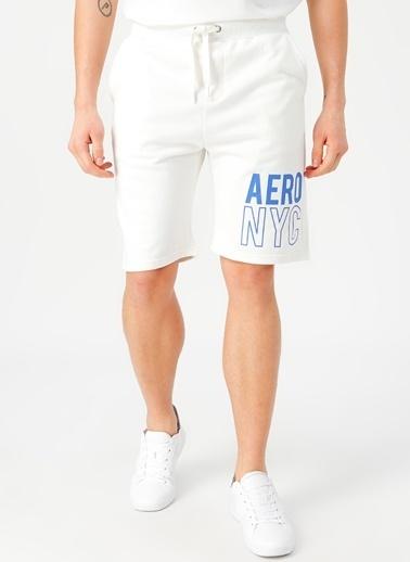 Aeropostale Şort Beyaz